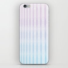 Circle Gradient iPhone & iPod Skin