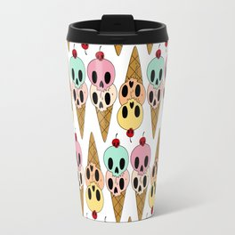 Skull Ice Cream Travel Mug