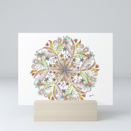 Nature Mandala Mini Art Print