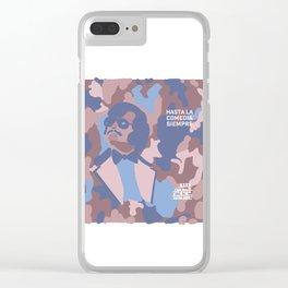 Tony Clifton series - Hasta la comedia siempre Clear iPhone Case