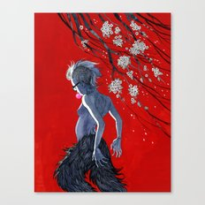 Bubblegum & Cherry Blossoms Canvas Print