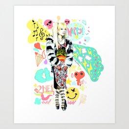 2NE1 Happy: CL Art Print