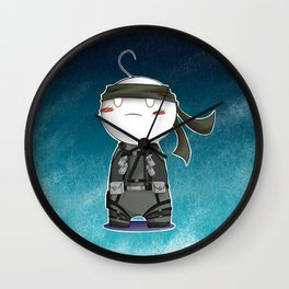Solid Cry Wall Clock