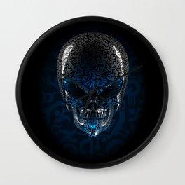 Alien Skull Wall Clock
