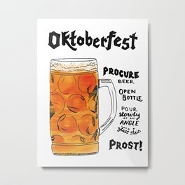 The Drink Collective: Oktoberfest Metal Print