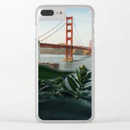 San Francisco bridge Clear iPhone Case