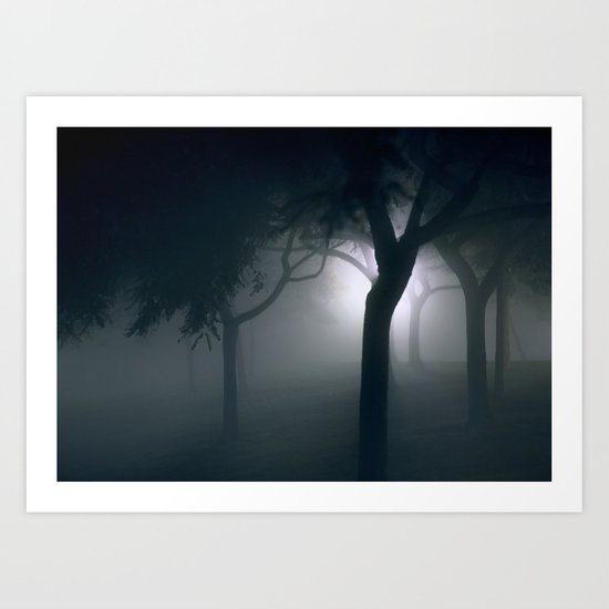 into that good night Art Print