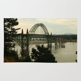 Yaquina Bay Bridge Rug