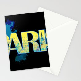 Paris - Typography Stationery Cards
