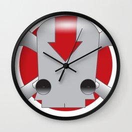 Robot Skull Wall Clock