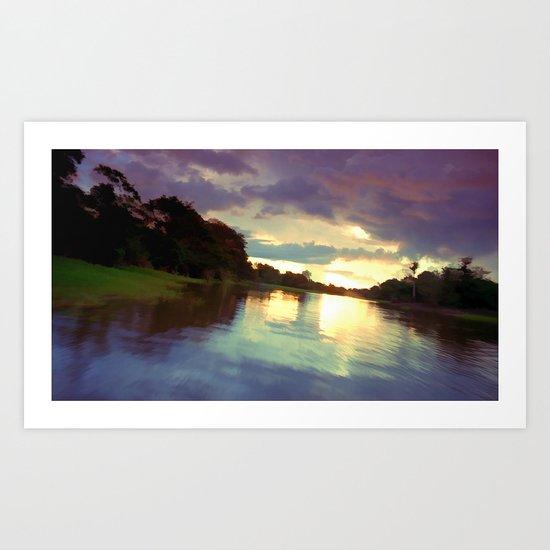 Quiet Waters Art Print