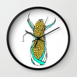 Corny Cobb Wall Clock