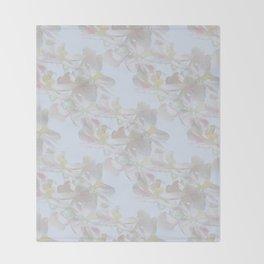 Floral dream Throw Blanket
