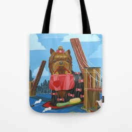 New Yorkie Tote Bag