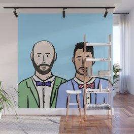 Beard Boy: Guillaume & Hector Wall Mural