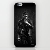 zayn iPhone & iPod Skins featuring Wet Zayn by Cyrilliart