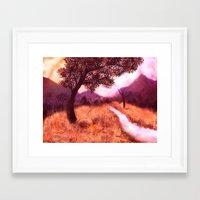 montana Framed Art Prints featuring Montana by Tanya Dawn Art