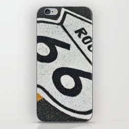 Route 66 sign. iPhone Skin