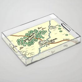 Sherwood Forest Acrylic Tray