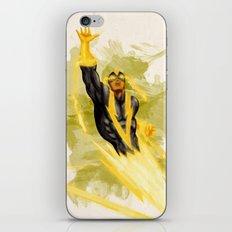 Black Vulcan iPhone & iPod Skin