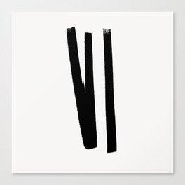 Lines 2, 1 Canvas Print