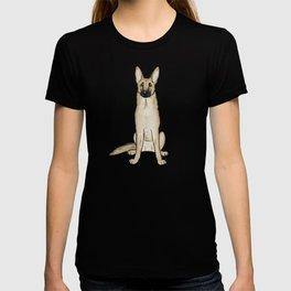 Light Tan and Black German Shepherd T-shirt