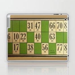 FREnch vintage loto game Laptop & iPad Skin