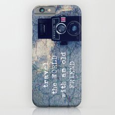 travel the world with an old friend Slim Case iPhone 6s