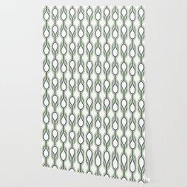 Retro-Delight - Double Drops - Mint Wallpaper