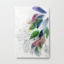 Leaves gone Metal Print