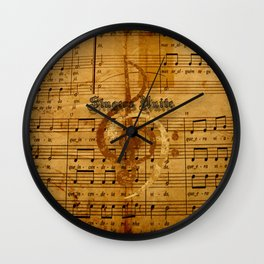 singers unite Wall Clock