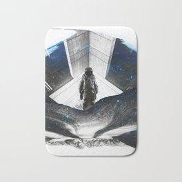 Astronaut Isolation Bath Mat