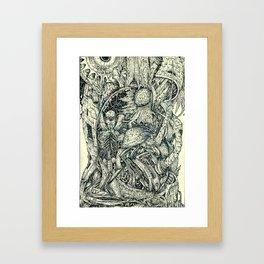 Hantu Framed Art Print