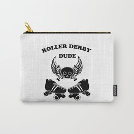 Roller Derby Dude Carry-All Pouch