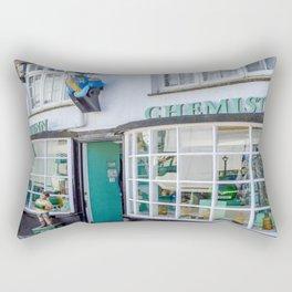 Port Isaac - Doc Martin's Portwenn Chemist Rectangular Pillow