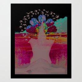 The Awakened Art Print