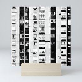 Belgrade | Takovska | black and white Mini Art Print