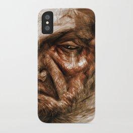 Wise Oldman iPhone Case