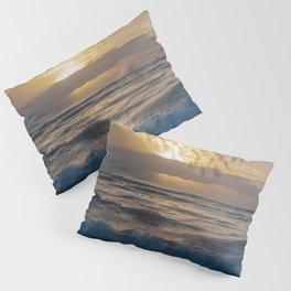 fluffy silky waves Pillow Sham
