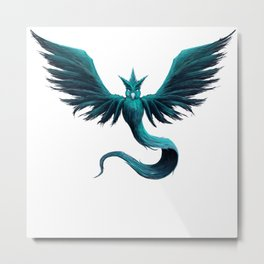 Team Mystic Metal Print
