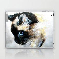 Siamese Cat Unedited Laptop & iPad Skin