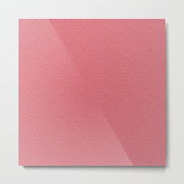 Hearts and hearts pattern ( Pink ) Metal Print