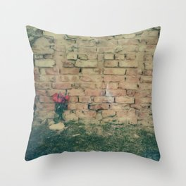 Lovers Be Damned Throw Pillow