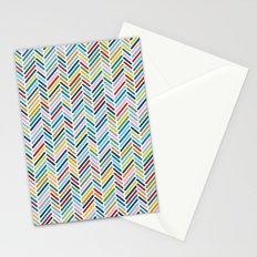 Herringbone Colour Stationery Cards