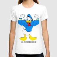 elmo T-shirts featuring Donald Duck Lifts by VeilSide07