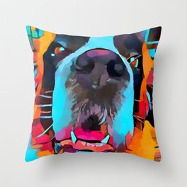 St. Bernard Throw Pillow