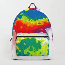 Rainbow Blot 02 Backpack