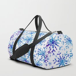 Bird Snowflake Duffle Bag