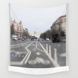In the Streets of DC Wall Tapestry