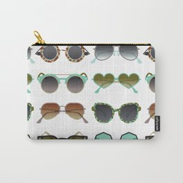 Sunglasses Collection – Mint & Tan Palette Carry-All Pouch
